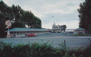 Exterior,  Regent Motel,  Hwy 15,  Beauport,   Quebec,  Canada,  40-60s