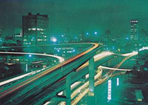Night View of Samil High-way, SEOUL, South Korea, 50-70's
