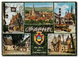 Modern Postcard of Michelstadt Herz of Odenwaldes