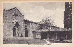 Italy Fiesole Convento e Chiesa di San Francesco