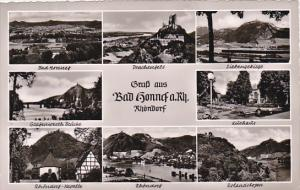 Gruss Aus Bad Honnef am Rhein Multi View Rhoendorf Germany Real Photo
