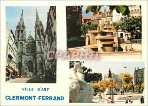 Postcard Modern Art City of Clermont Ferrand