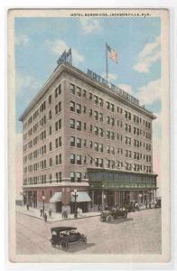 Hotel Burbridge Jacksonville Florida 1920c postcard
