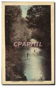 Old Postcard Pontarlier Doubs has Sandon The Swimming