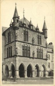 luxemburg, ECHTERNACH, Hôtel de Ville, Town Hall (1950)