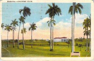 Habana Country Club Havana Cuba Tarjeta Posta 1935 White Border Postcard