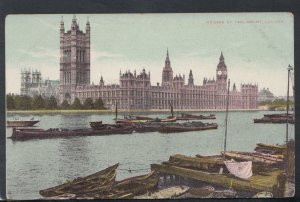 London Postcard - The Houses of Parliament   RS16307