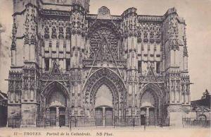 France Troyes Portail de la Cathedrale 1912