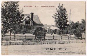 Library, Setauket NY
