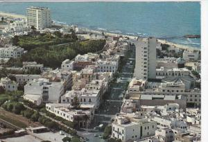 Aerial View Of Bourguiba Avenue, SOUSSE, Tunisia, 1950-1970s