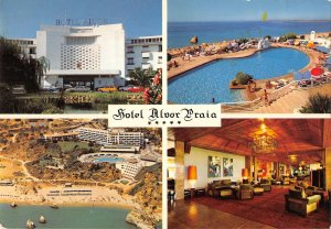B108642 Portugal Praia dos Tres Irmaos Alvor Algarve Hotel Beach real photo uk