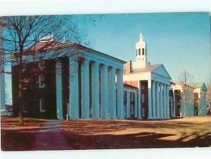 Lexington VA Washington and Lee University Campus College   Postcard # 5371