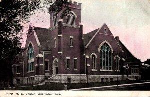 Iowa Anamosa First Methodist Episcopal Church 1909