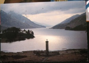 Scotland Glenfinnan Monument and Loch Shiel - posted 1993