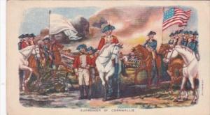 Surrender Of Cornwallis Advertising Boston Mutual Life Insurance Company