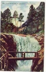 Upper Seven Falls, So. Cheyenne Canon, Colorado, PU-1917