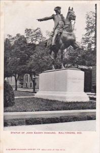 Statue Of John Eager Howard Baltmore Maryland