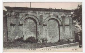 La Porte Gallo Romaine Langres France postcard