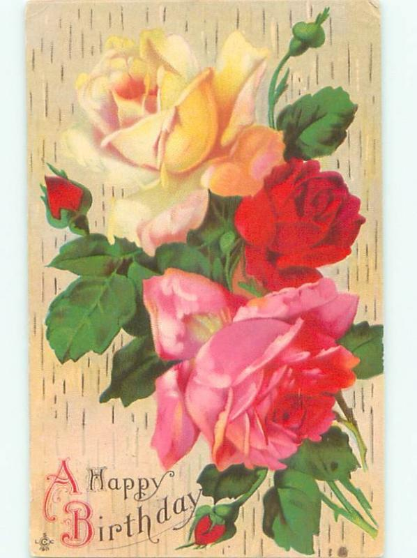 Divided-Back BEAUTIFUL FLOWERS SCENE Great Postcard AA3098