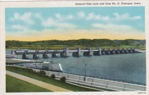 Iowa Dubuque Gneral PIke Lock and Dam No 11