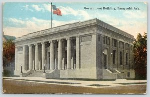 Paragould Arkansas~Federal Government Building~Post Office & Courthouse c1910 PC