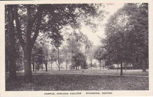 Indiana Richmond Campus Scene Earlham College Albertype
