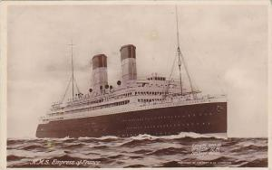 RP: R.M.S. Empress of France, Ocean Liner, 10-20s