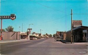1957 Mountain Home Idaho Business Section Chrome Standard Oil Gas Northwest 7739