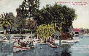 California Los Angeles Bamboo Island Hollen Beck Park 1914