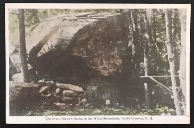 The Oven Diana's Baths White Mountains North Conway NH Frank W Swallow