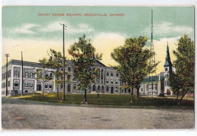 Court House Square, Brockville Ont