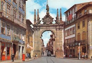 Portugal Braga Arco da Porta Nova New Gate's Arch Arc de la Porte Nouvelle