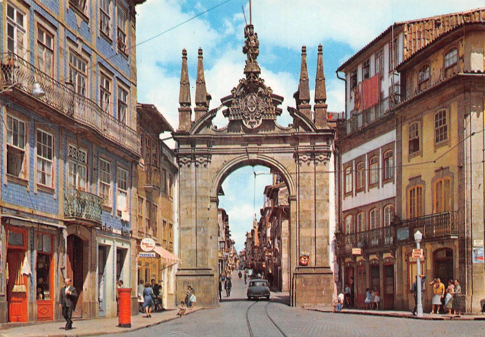Arco Per Porta portugal braga arco da porta nova new gate's arch arc de la