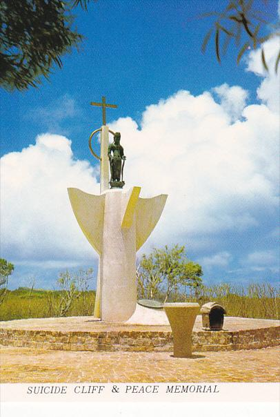 Saipan Suicide Cliff and Peace Memorial Northern Mariana Islands