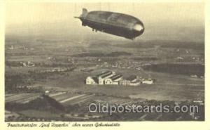 Reproduction Friedrichshafen Zeppelin, Zeppelins Postcard Postcards  Reprod...