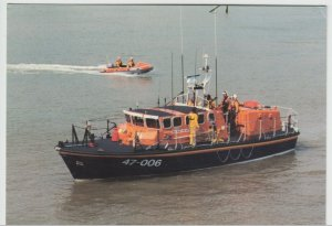 Shipping; Lizard Cadgwith Lifeboat Duke Of Cornwall & Inshore Boat PPC, Unused