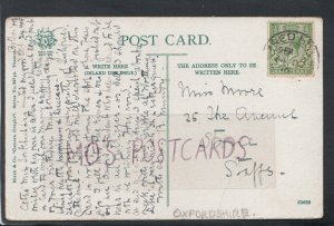 Family History Postcard - Moore - 25 The Avenue, Stone, Staffordshire  RF4514