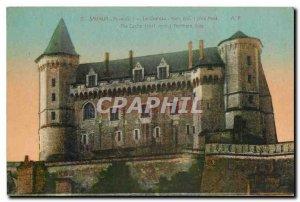 Old Postcard Saumur M and L Le Chateau