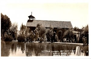 California Buena Park Knott's Berry Place Little Chapel By The Lake Real...