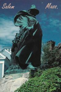 Massachusetts Salem Roger Conant Statue