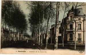 CPA MONTARGIS - Avenue de la Gare (227667)