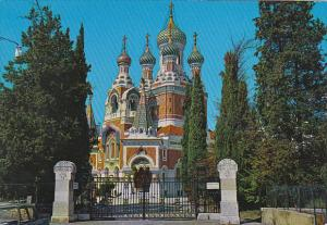 France Nice La Cathedrale Russe