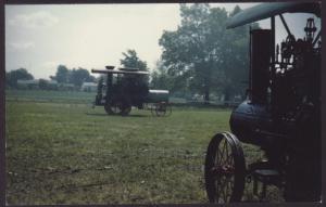 Steam Powered Farm Equipment Postcard