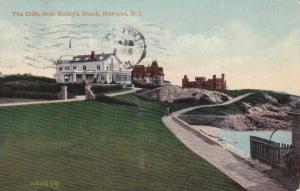 Approach to The Cliffs, from Bailey's Beach,  Newport, Rhode Island, PU-1911
