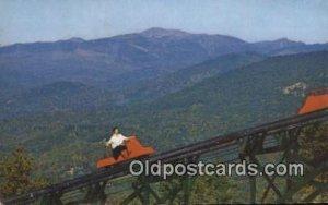 Mt Cranmore Skimobile, North Conway, New Hampshire, NH USA Winter Sports 1959...