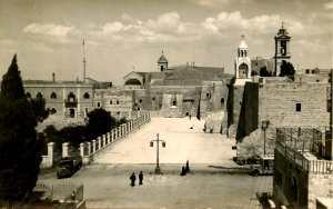 Israel - Bethlehem. Manger Square    *RPPC