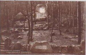 Germany Lindenfels Kriegerdenkmal Im Schenkenberg