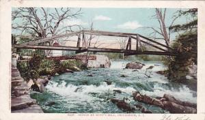 Rhode Island Providence Bridge At Hunts Mill 1905