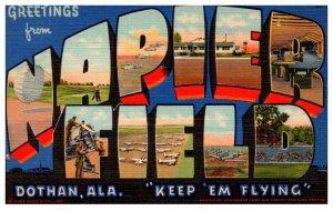 Alabama Doyhan NAPIER FIELD  LARGE LETTER