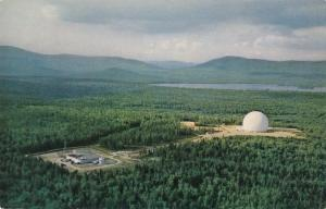Bell Telephone Earth Station Andover Maine Project Telstar Experiments Roadside